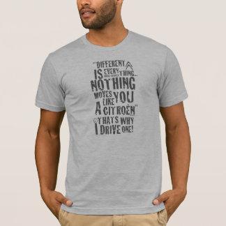 "Unterschiedlicher Citroen ""ist alles"" T - T-Shirt"