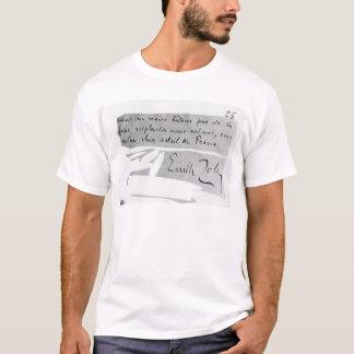 Unterschrift von Emile Zola T-Shirt