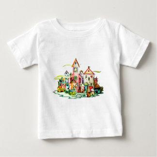 Unterseeisches Dorf Baby T-shirt