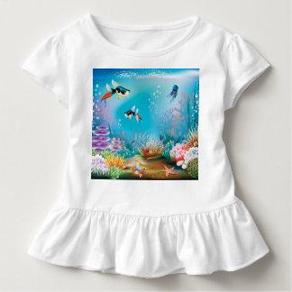 Unterseeisches Leben Kleinkind T-shirt