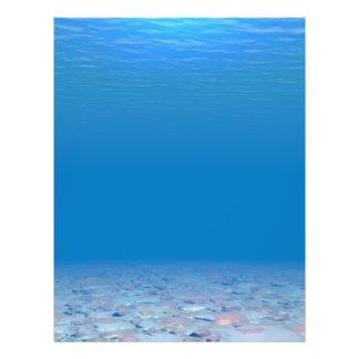 Unterseite des Meeres 21,6 X 27,9 Cm Flyer