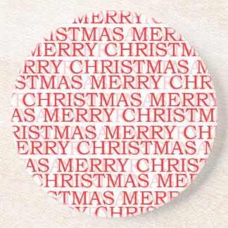 Untersetzer der frohen Weihnachten
