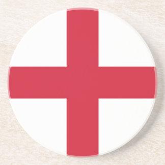 Untersetzer mit Flagge von England