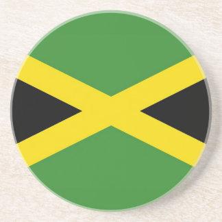 Untersetzer mit Flagge von Jamaika
