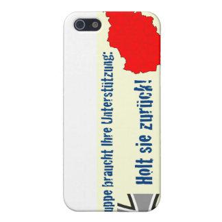 Unterstützt sterben Truppe - Holt sie zurück! iPhone 5 Schutzhüllen
