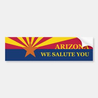 Unterstützung Arizona Autoaufkleber