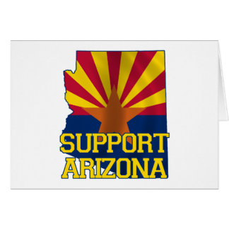 Unterstützung Arizona Karte