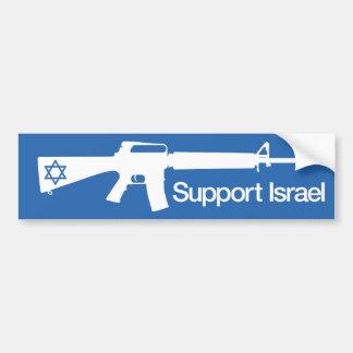 Unterstützung Israel - Konfliktaufkleber Gazas Ham Autosticker
