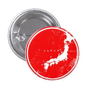 Unterstützung Japan Runder Button 2,5 Cm