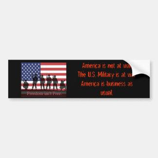 Unterstützung-unser-Truppen--30355, Amerika ist Autoaufkleber