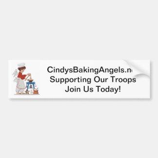Unterstützung unseres Truppe-Autoaufklebers Autoaufkleber
