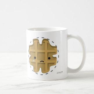 Unterstützung versagte Waffel-Schale Kaffeetasse