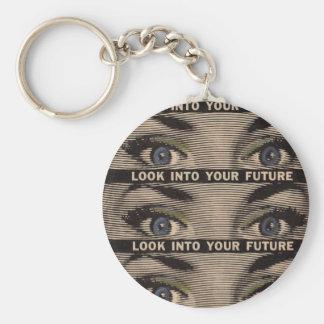 Untersuchen Sie Ihre Zukunft Schlüsselanhänger