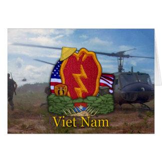 untersucht 25. Infanteriedivision-Vietnamkrieg der Karte