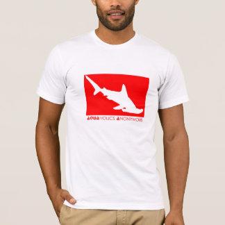 Unterwasseratemgerät-Hammerhai-T - Shirt