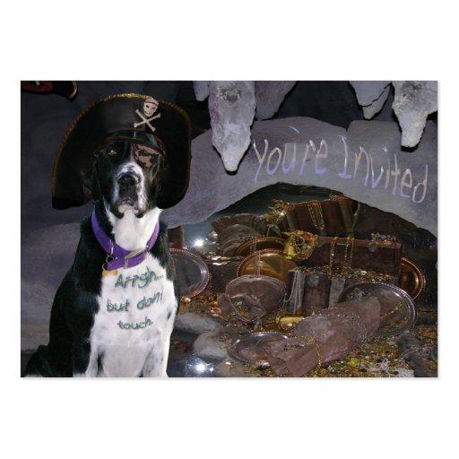 """Unterwasseratemgerät-Hund Trading Card """", der teil Visitenkartenvorlage"""