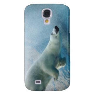 UnterwasserFoto eines polaren Bären Galaxy S4 Hülle