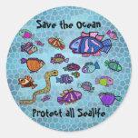 UnterwasserMeereswelt-Ozean-Aufkleber