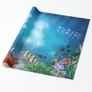 UnterwasserPackpapier 7 Einpackpapier