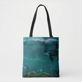 Unterwasserszenen-Tasche Tasche
