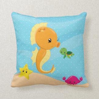 Unterwassertiere Zierkissen