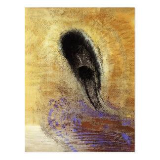 Unterwasservision durch Odilon Redon Postkarte