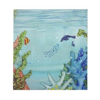 Unterwasserwelt #1 notizblock