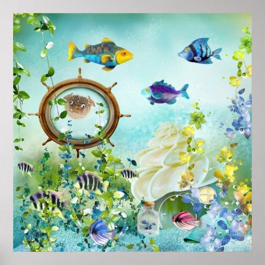 Unterwasserwelt III Poster