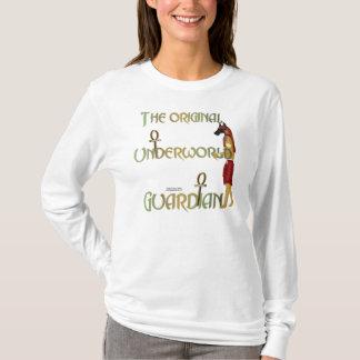 Unterwelt-Wächter-Damen-langes Hülsen-Shirt T-Shirt