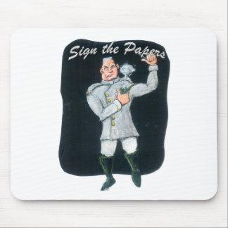 Unterzeichnen Sie die Papiere Mousepad