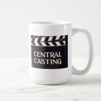 Unterzeichnen Sie herein englisches ZENTRALES Kaffeetasse