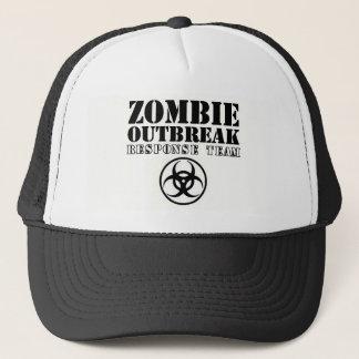 untotes absolut gehen des Zombieausbruchwarteteams Truckerkappe