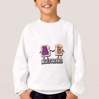 Untrennbare Erdnussbutter und Gelee Sweatshirt