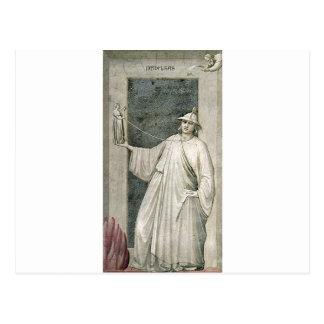 Untreue durch Giotto Postkarte