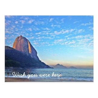 Unusual sight of Rio De Janeiro Postkarte