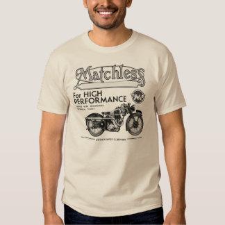Unvergleichliches klassisches Motorrad-T-Shirt Tshirt