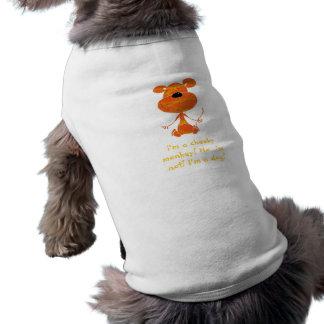 Unverschämter Affe-HundeT - Shirt