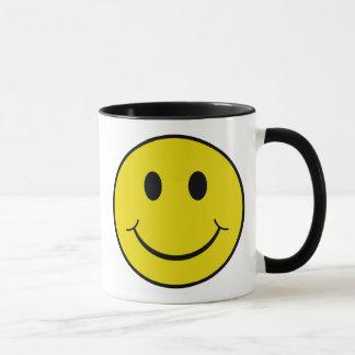 Unverschämter smiley tasse