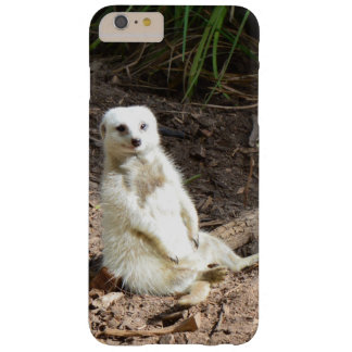 Unverschämtes weißes Meerkat, Barely There iPhone 6 Plus Hülle