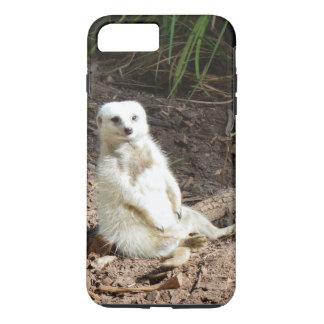 Unverschämtes weißes Meerkat, iPhone 8 Plus/7 Plus Hülle