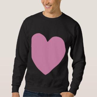 unvollständiges Herz (Rosa) Sweatshirt