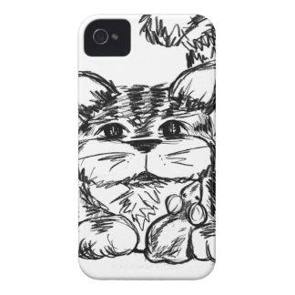 Unwahrscheinliche Freunde Katze und Maus iPhone 4 Cover