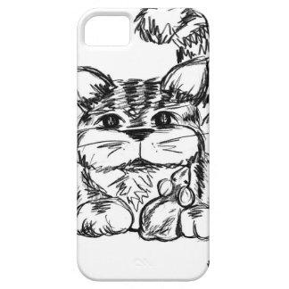 Unwahrscheinliche Freunde Katze und Maus iPhone 5 Cover