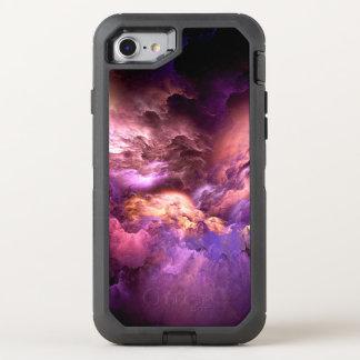 Unwirkliche lila Wolken OtterBox Defender iPhone 8/7 Hülle