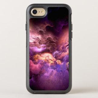 Unwirkliche lila Wolken OtterBox Symmetry iPhone 8/7 Hülle