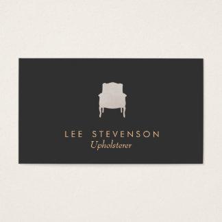 Upholsterer-Visitenkarte Visitenkarten