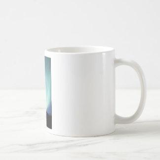 UPO Raumschiff mit Nordlichtern Kaffeetasse