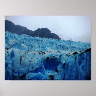 Upsala Gletscher, Lago Argentinien Poster