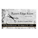 Upscale Salon blüht Verabredungs-Geschäfts-Karte Visitenkartenvorlagen