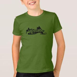 upstate grünes Shirt des Schlittens
